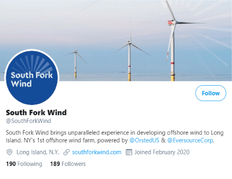 Offshore Wind Power For Long Island South Fork Wind